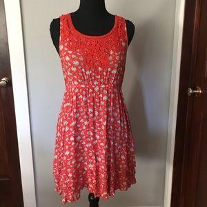🍊Sweet Forever 21 Orange Dress (M) 🍊